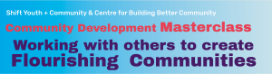 Community Development Masterclass with Andre Van Eymeren